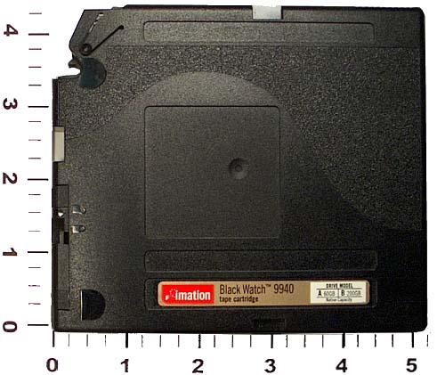 Photographs to Identify Computer Tapes: StorageTek 9940
